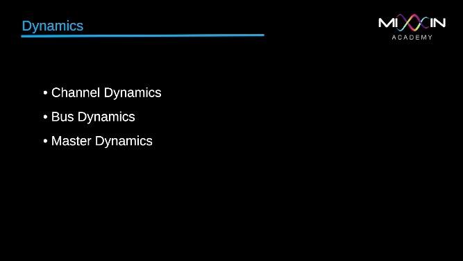 LEVEL 4 - Dynamics