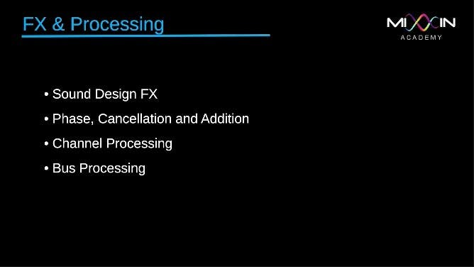 LEVEL 7 - FX & Processing