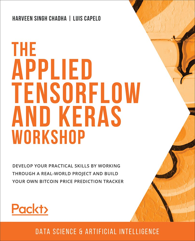 Cover of The Applied Tensorflow and Keras Workshop