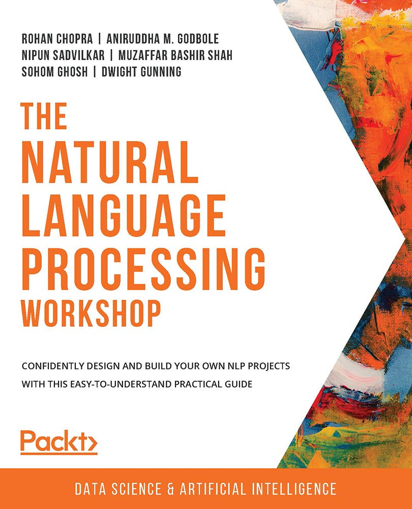 Cover of The Natural Language Processing Workshop