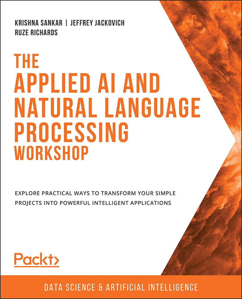 Cover of The Applied AI and Natural Language Processing Workshop