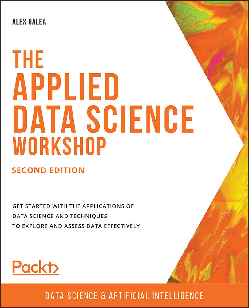 Cover of The Applied Data Science Workshop