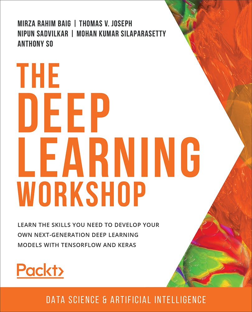 Cover of The Deep Learning Workshop