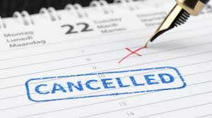 Vacation Rental Cancellations