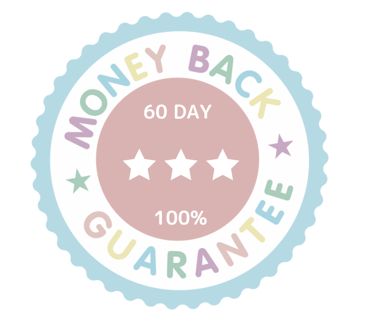 MY 100% 60 Day Money Back Guarantee