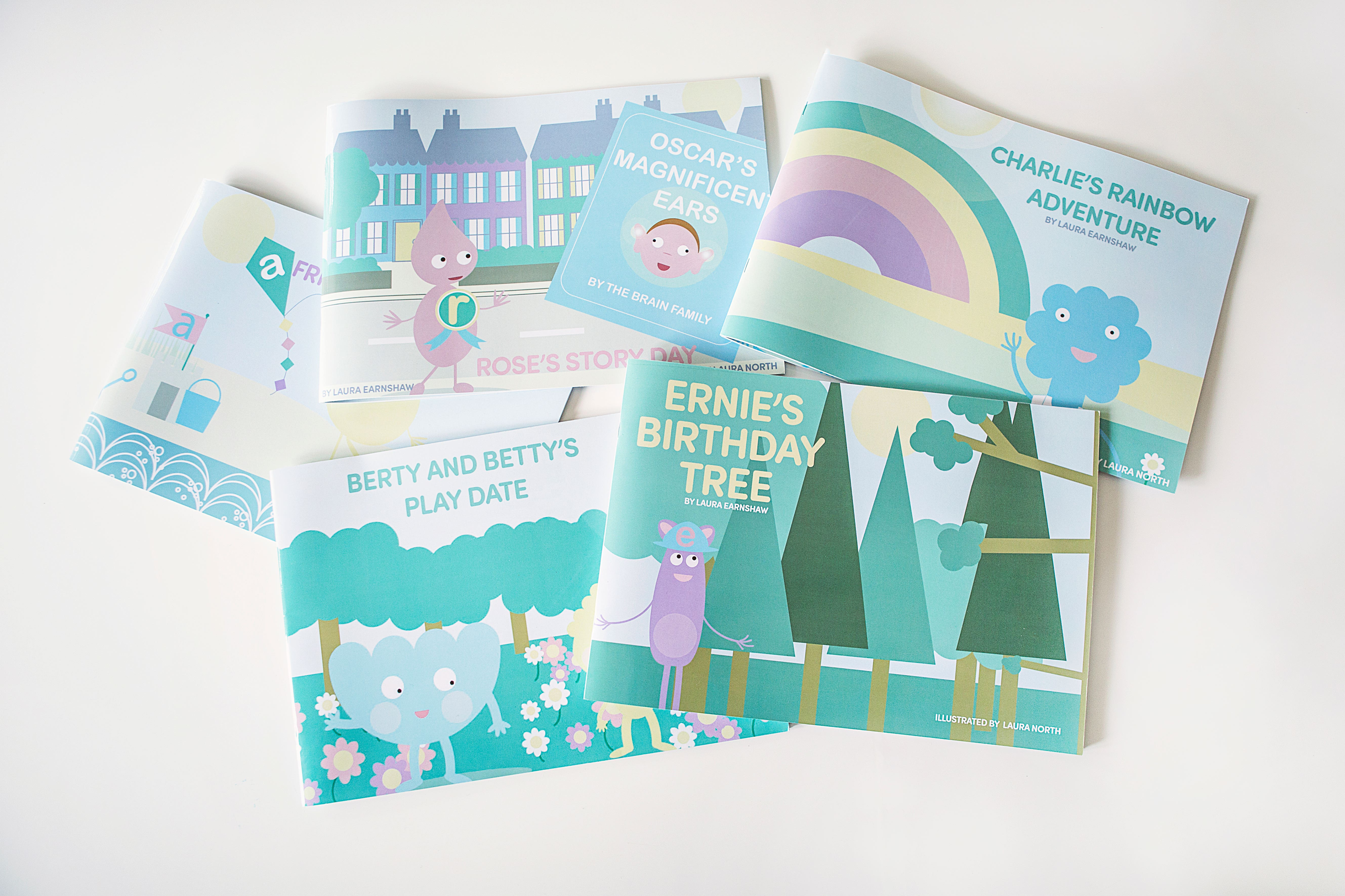 In the Early Years we send you story books too!