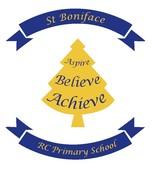 St Boniface School Salford's name