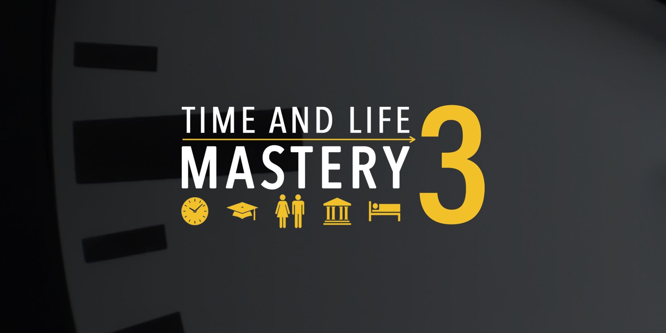 The Time And Life Mastery Course Is Here