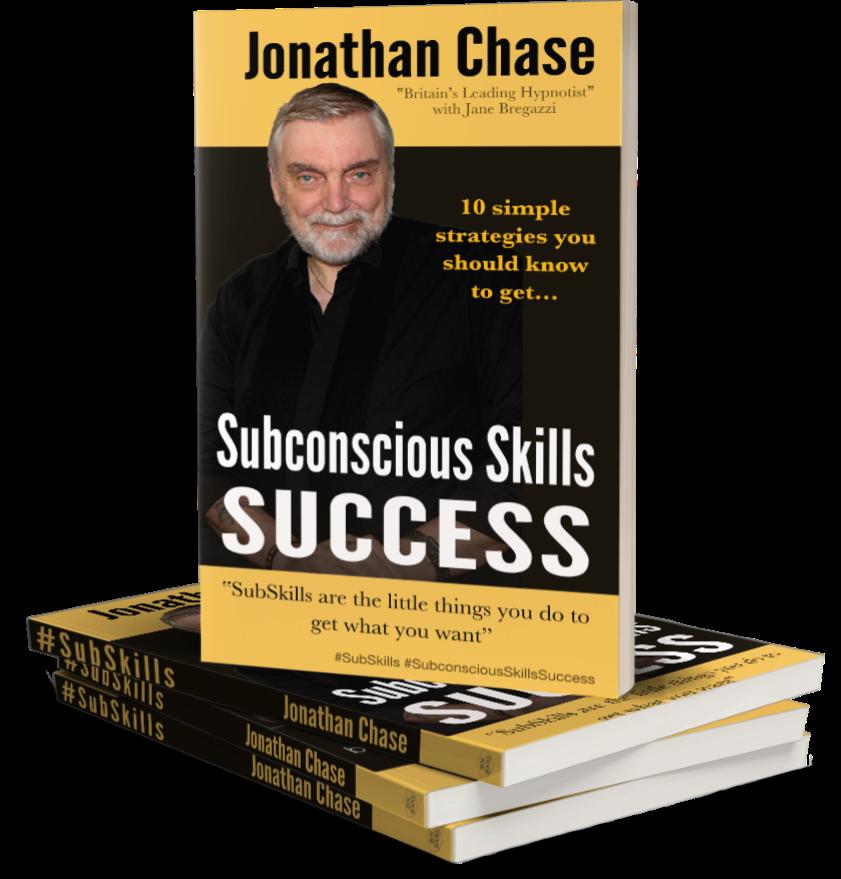 Subconscious Skills Success book Jonathan Chase The Hypnotist