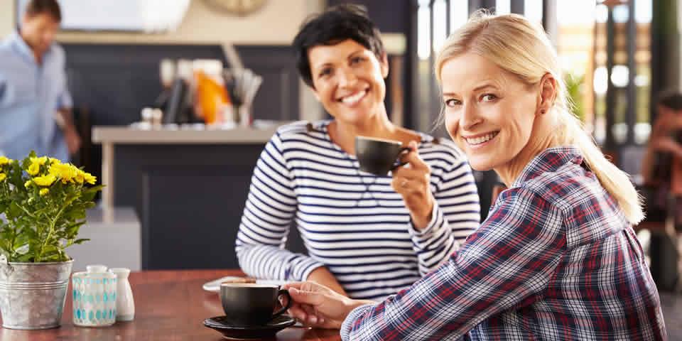 women coaching in restaurant
