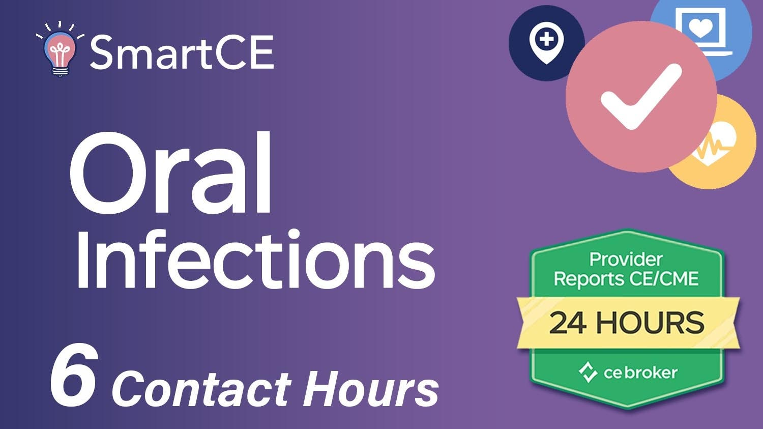 Oral Infections - 6 Contact Hours/20-757544