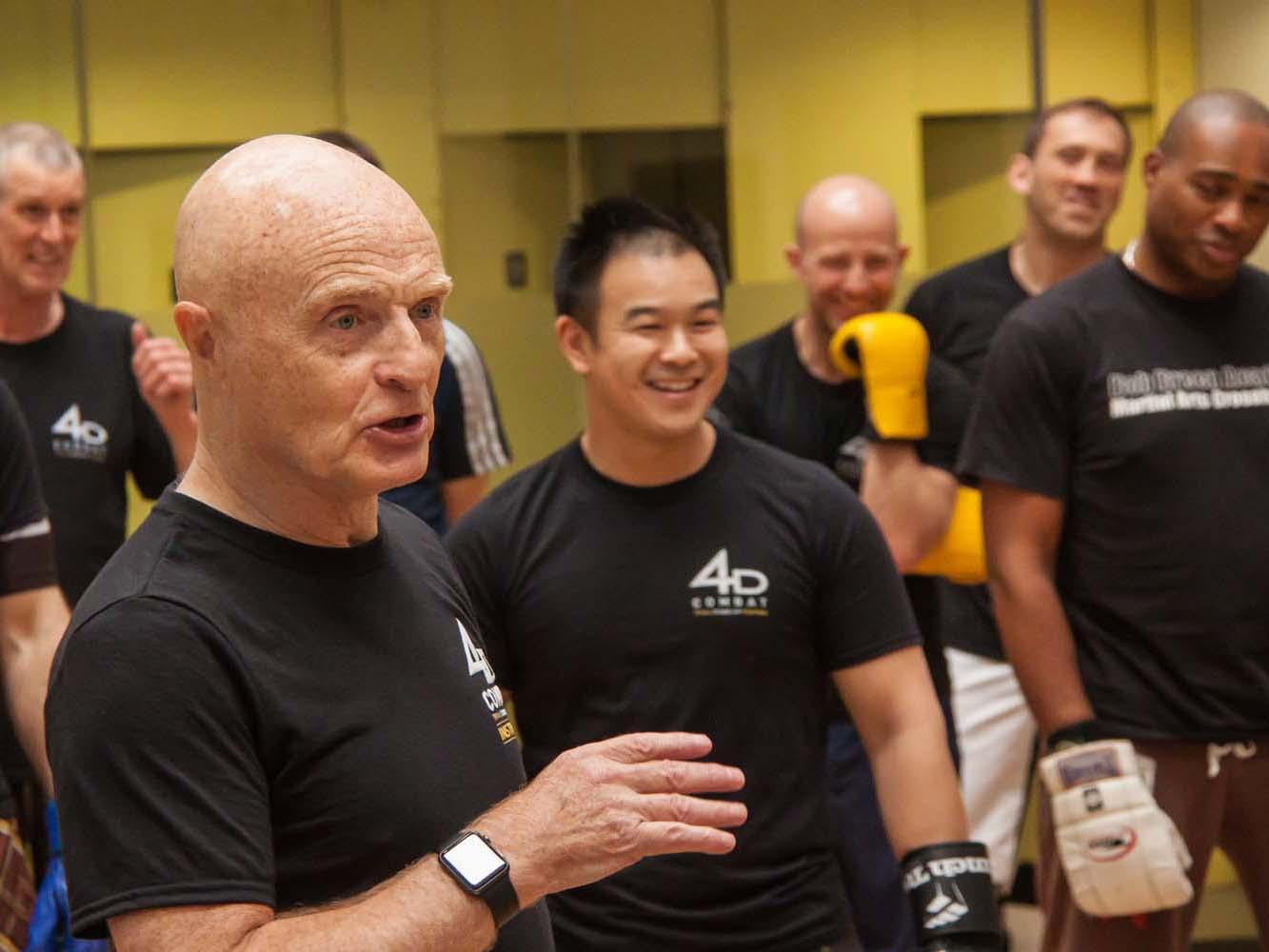 Bob Breen at a 4D Combat seminar