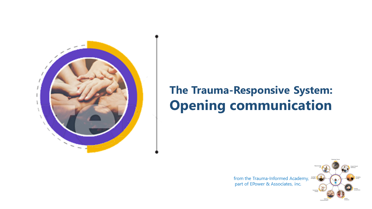 TRS: Opening Communication