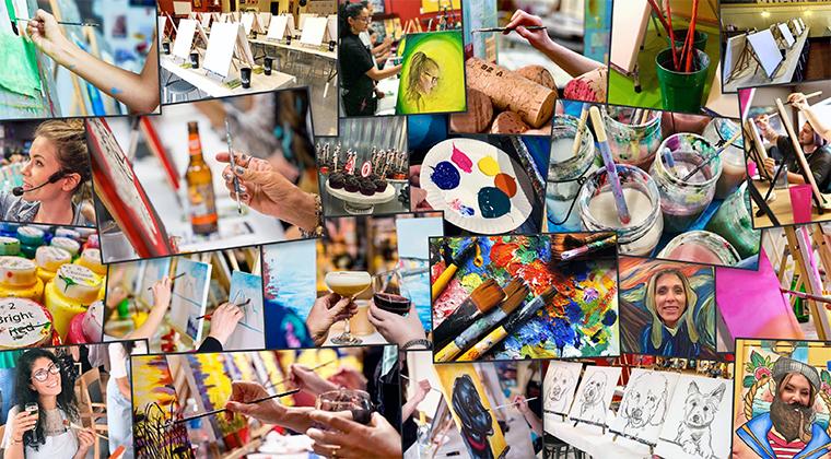 Online courses for paint & sip businesses