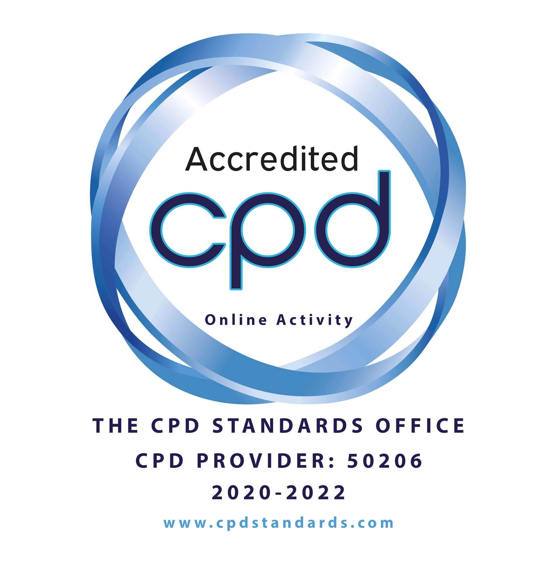 Accredited CPD Online Activity