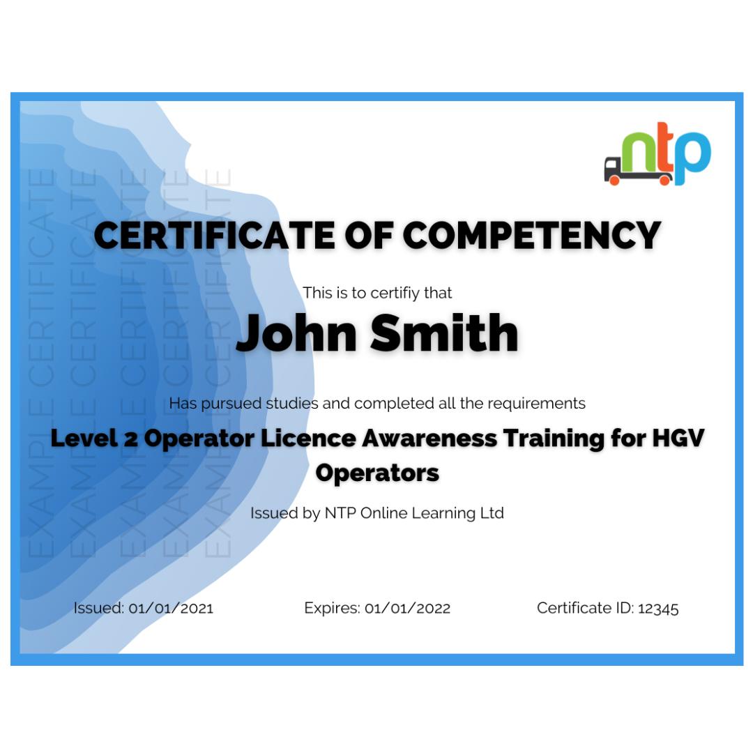 operator-licence-awareness-training-certificate