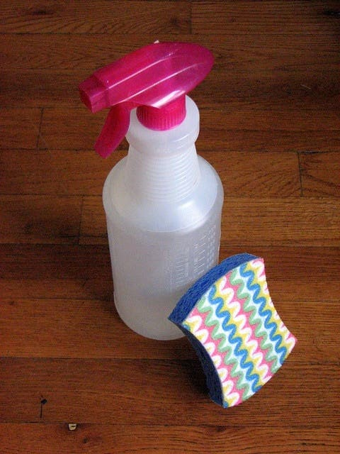 Take the toxic out of cleaning