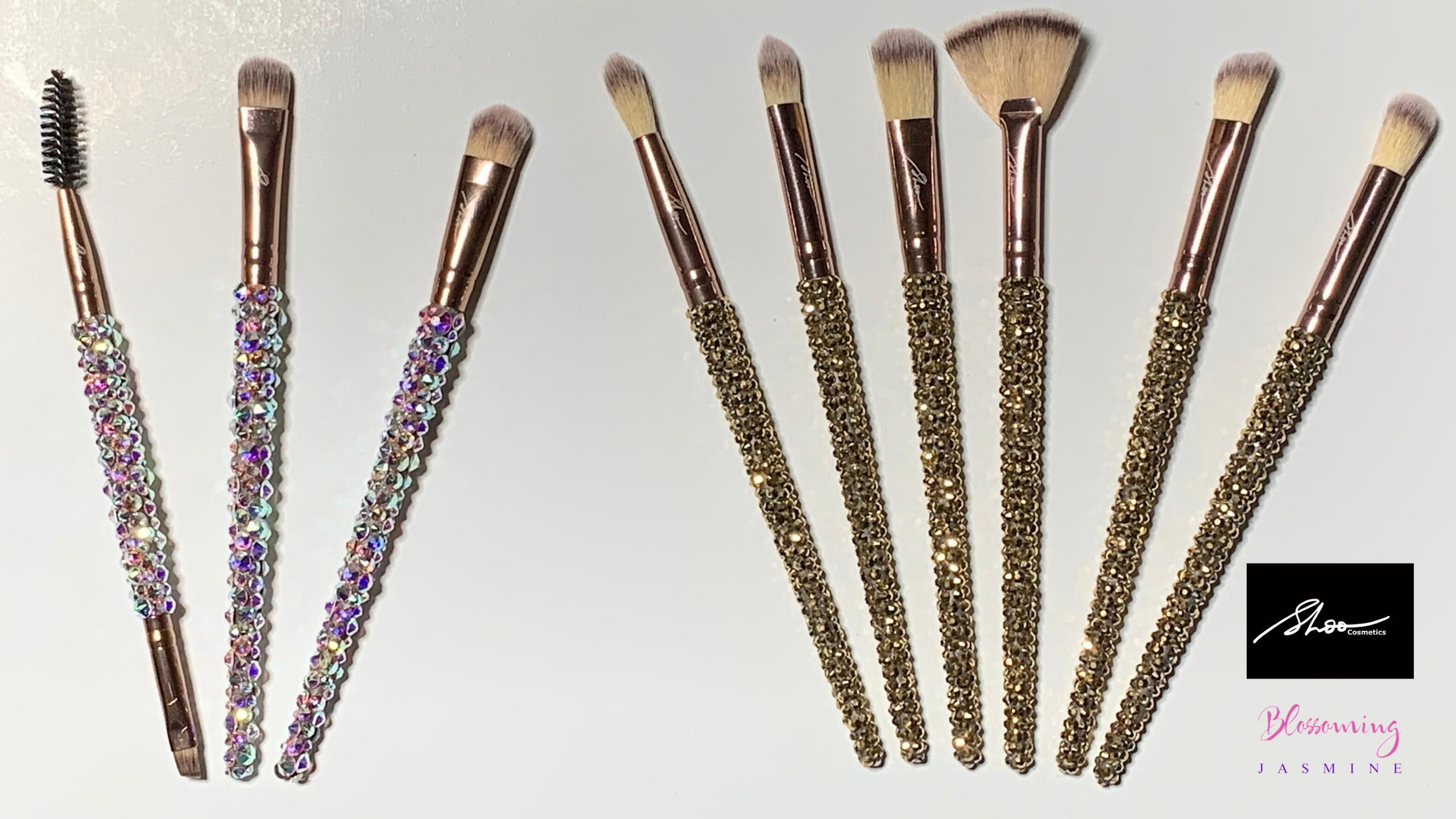 Swarovski MakeUp Brushes