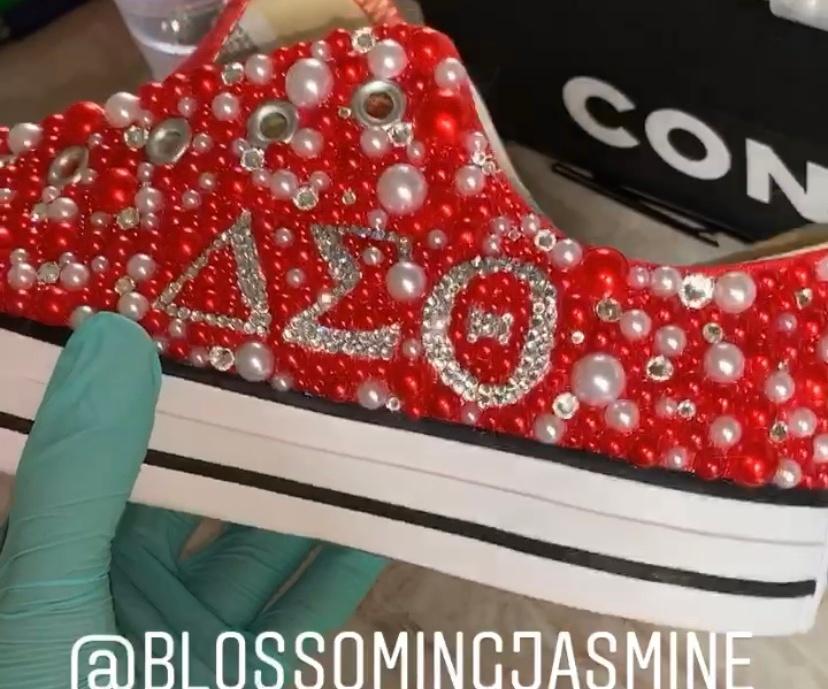 Swarovski Converse Sneakers