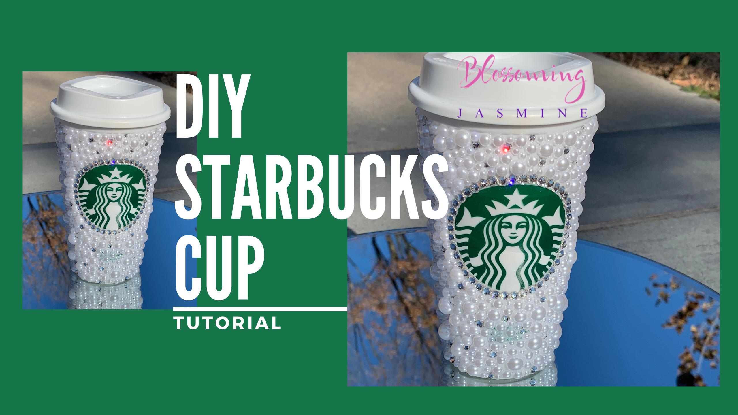 Starbucks Pearl and Swarovski Cup