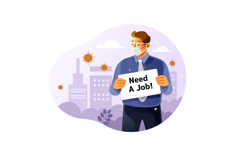 Unemployed Graphic