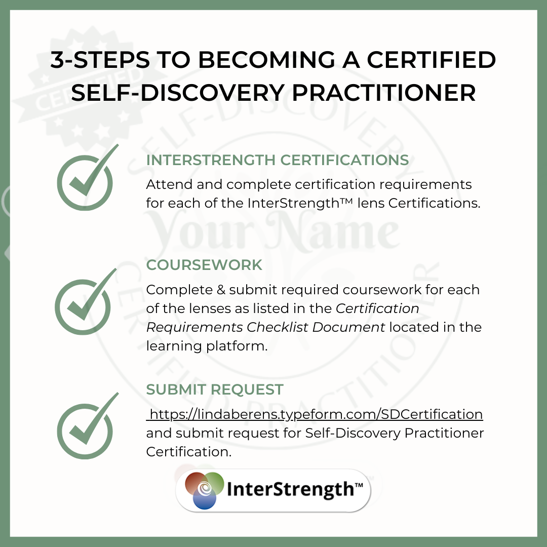 3 steps to certified self-discovery practitioner