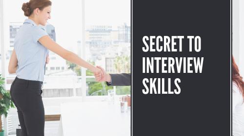 Secret To Job Offer - Interview Skills For The Dental Professional