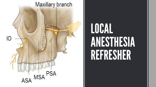 Local Anesthesia Refresher Course