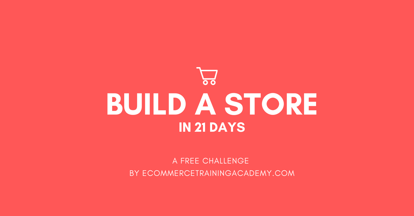 Build a Store Challenge in 21 Days