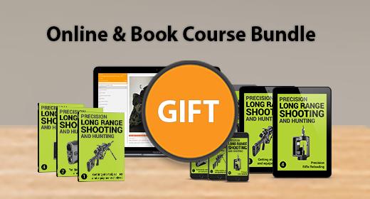 #1 ULTIMATE BOOK & COURSE BUNDLE GIFT - LONG RANGE SHOOTING