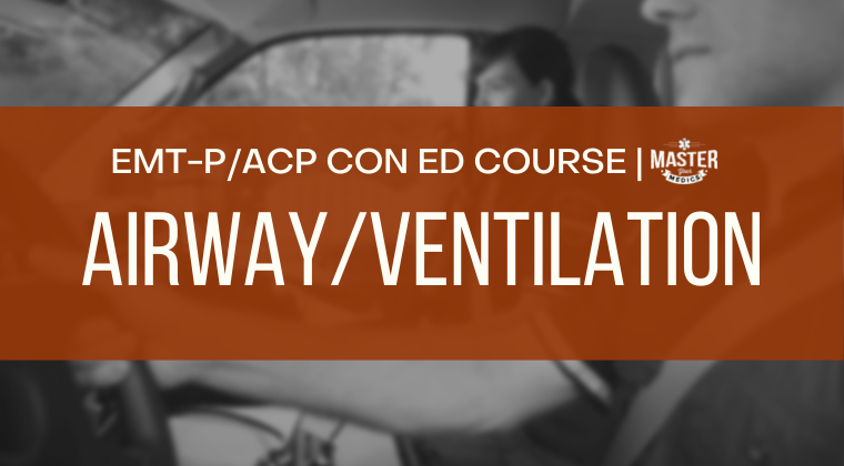 Advanced Airway and Ventilation Course [CE]