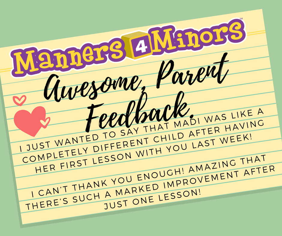 What Parents are Saying...