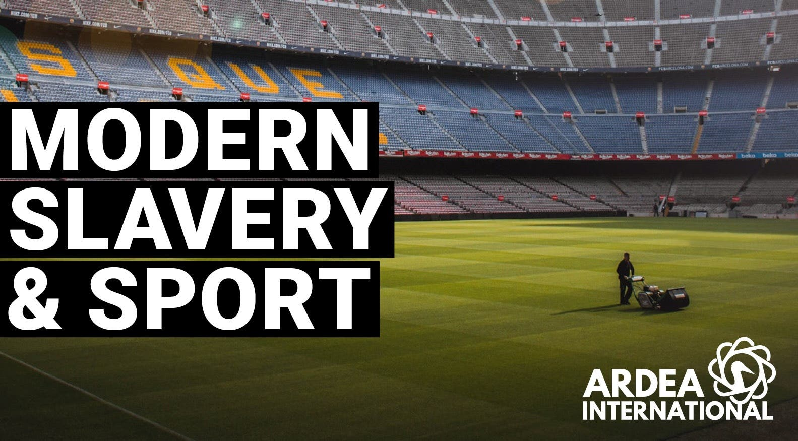 Modern slavery and the sports sector :30 mins introductory module