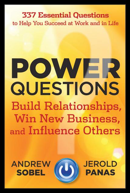 power questions andrew sobel