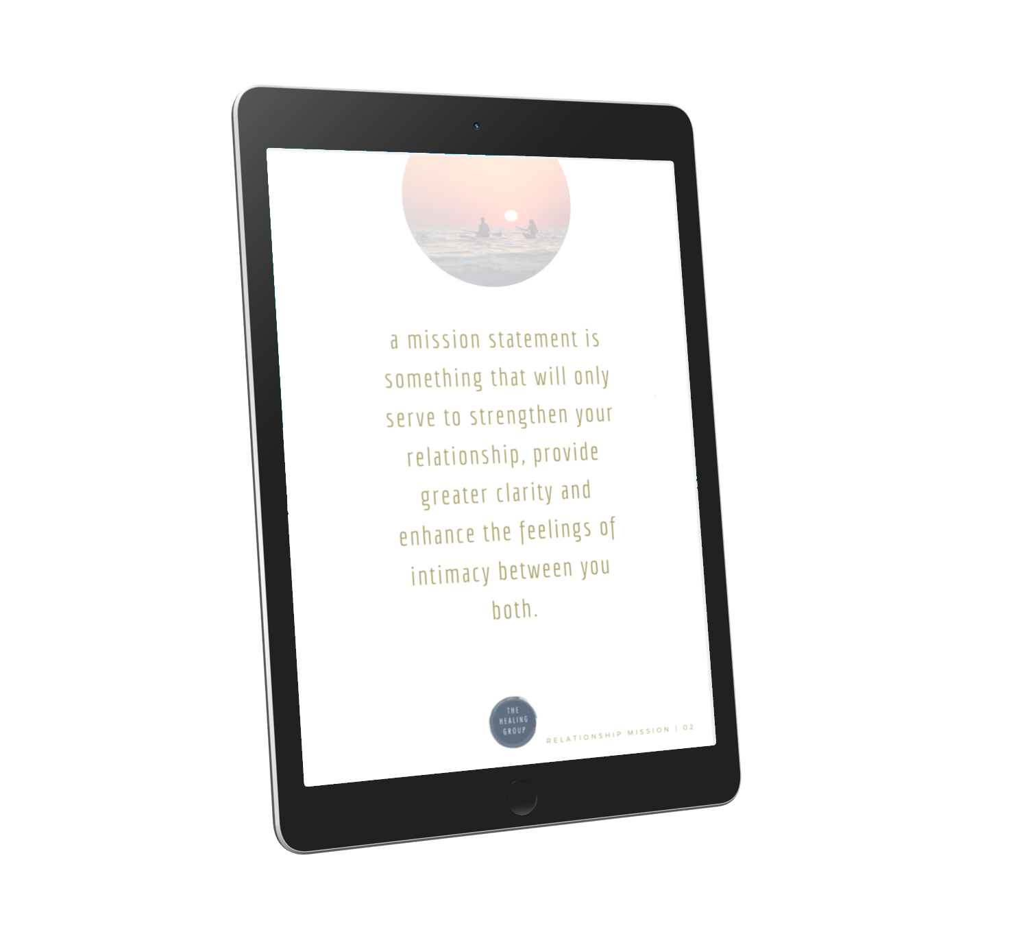 Your Relationship Mission Statement E-Book
