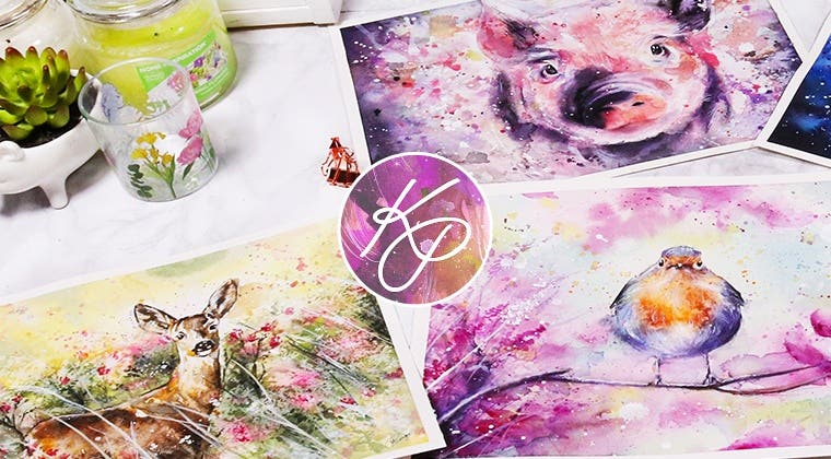 Expressive Animals in Watercolour