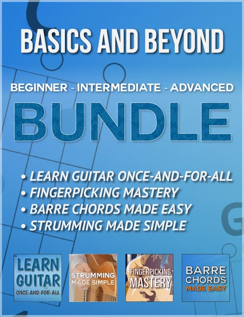 Complete Beginner's Course - Learn Guitar Once-And-For-All