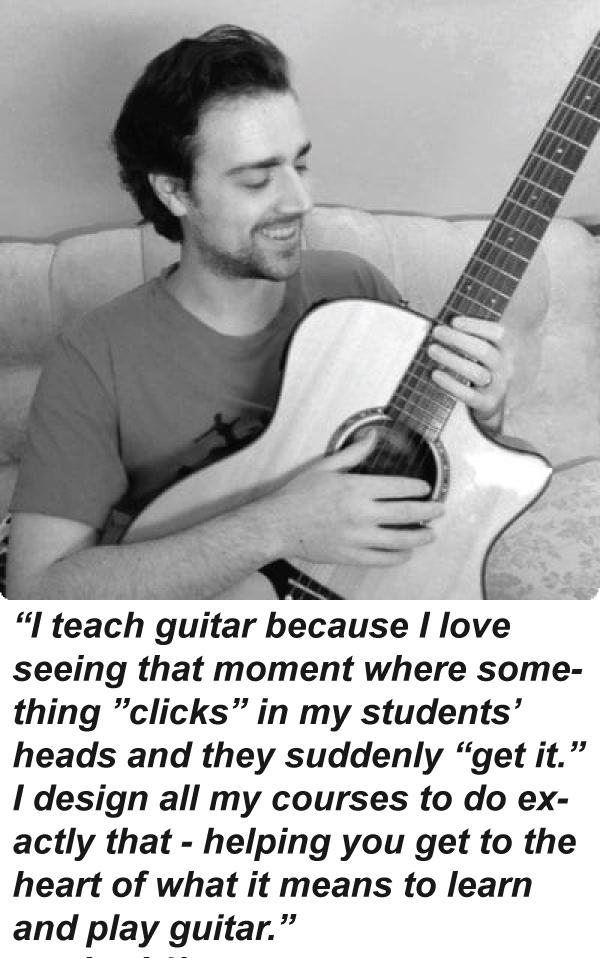 Guitar Instructor James from GoodGuitarist